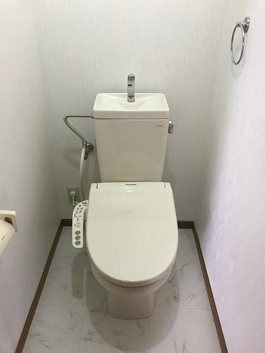 メロディーハイツあまの / 201号室トイレ