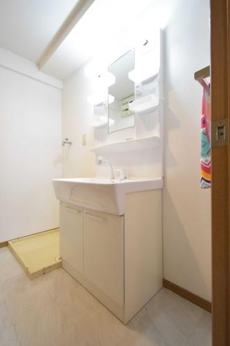 シャトレ天拝 / 107号室洗面所