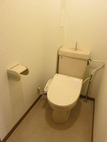 フレア水城 / 101号室トイレ