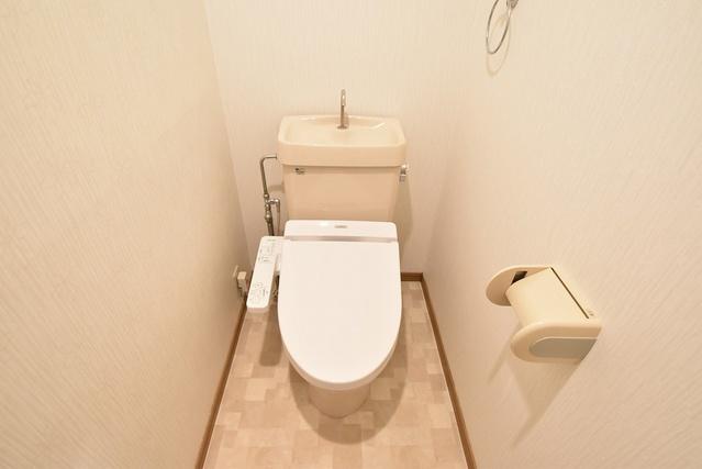 シャトレ天拝 / 403号室トイレ