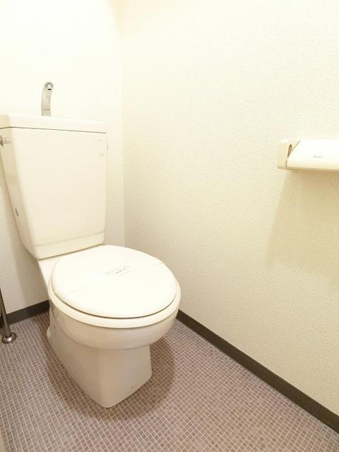 プレジール天拝 / 102号室トイレ