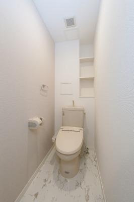 ステラ天拝(ペット可) / 203号室トイレ