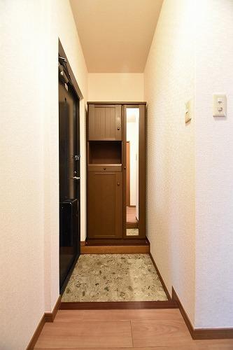 メロディーハイツあまの / 101号室玄関