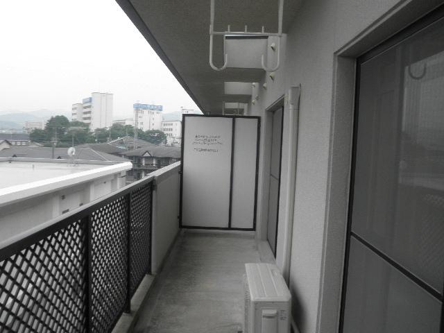 レジデンス俗明院 / 402号室バルコニー