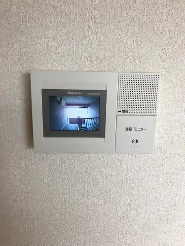 メロディーハイツあまの / 201号室セキュリティ