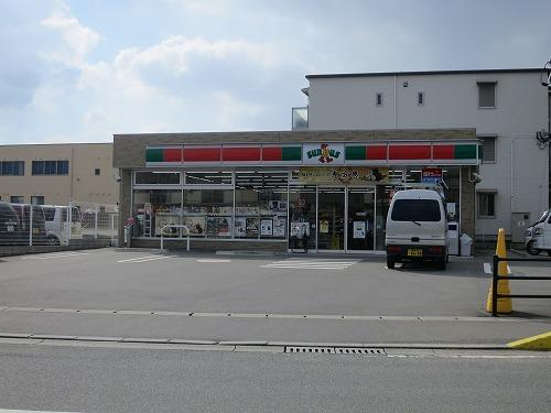筑紫駅そばにコンビニ(サンクス)ができました!!