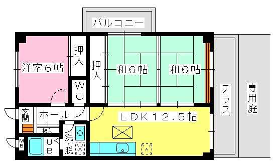 ソフィア / 103号室間取り