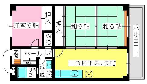 ソフィア / 305号室間取り