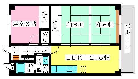 ソフィア / 502号室間取り