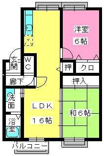 プレミール飯倉 / B2203号室間取り