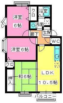 プレミール飯倉 / C3202号室間取り