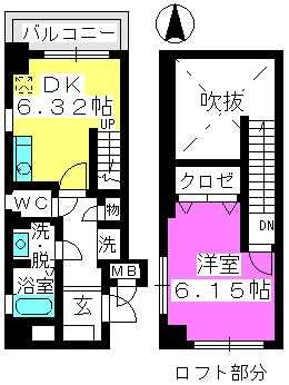 MKビル / 305号室間取り
