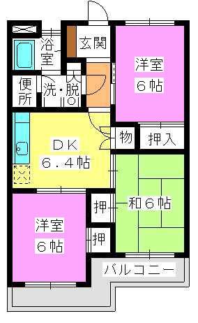 野田ビル / 203号室間取り