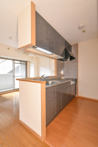 パークサイド西新 / 202号室キッチン