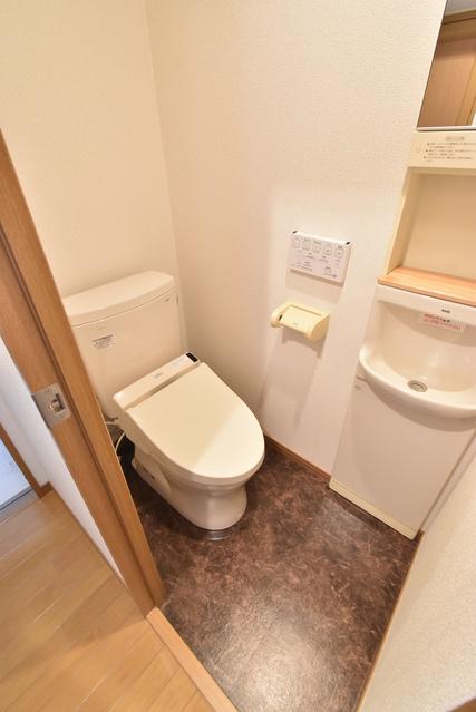 ラ・メール百道浜通り / 502号室トイレ