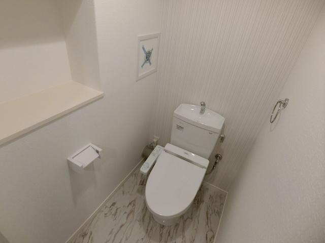 クレストコート高取 / 101号室トイレ
