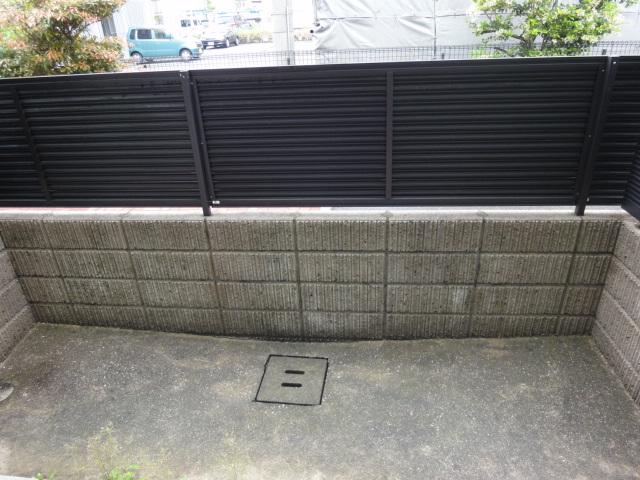 オイルファーム姪浜 / 102号室バルコニー