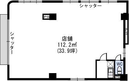 マーメゾン / テンポ号室間取り
