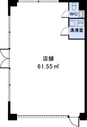 アゼリアⅡ / A店舗号室間取り
