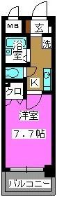 ヴィラ21 / 303号室間取り