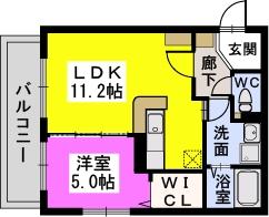 レスピーザ曙 / 301号室間取り