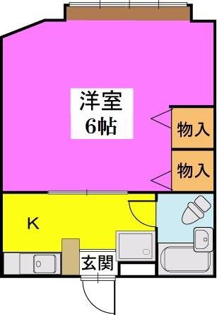 タチバナハイツ / 102号室間取り