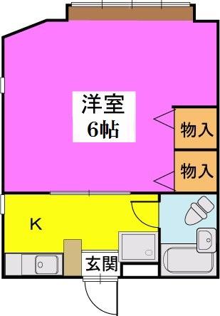 タチバナハイツ / 201号室間取り