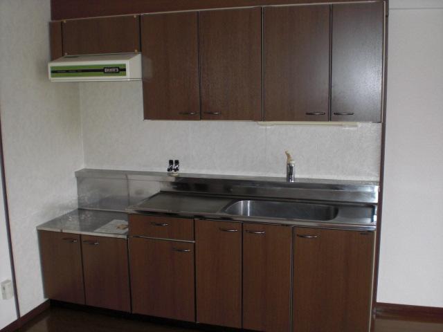 レスピーザⅡ / 208号室キッチン