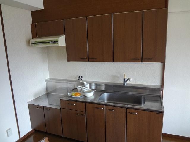レスピーザⅡ / 407号室キッチン