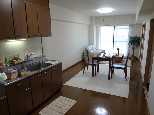 グレースマンション大野城 / 605号室リビング