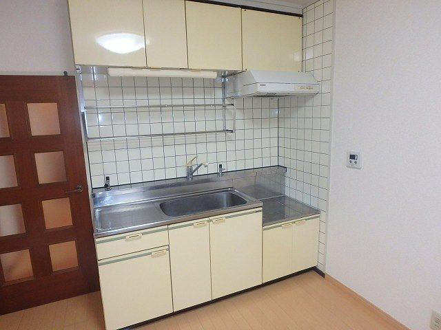 レスピーザ53 / 707号室キッチン