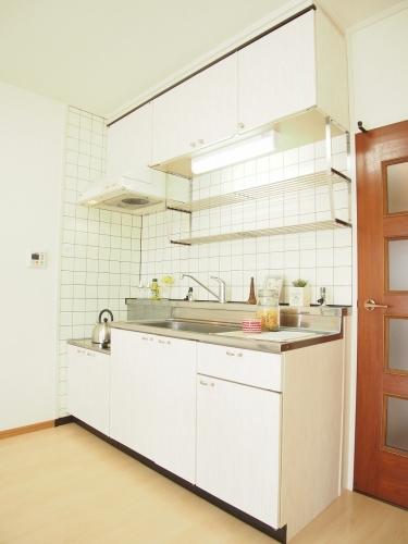 レスピーザ53 / 708号室キッチン