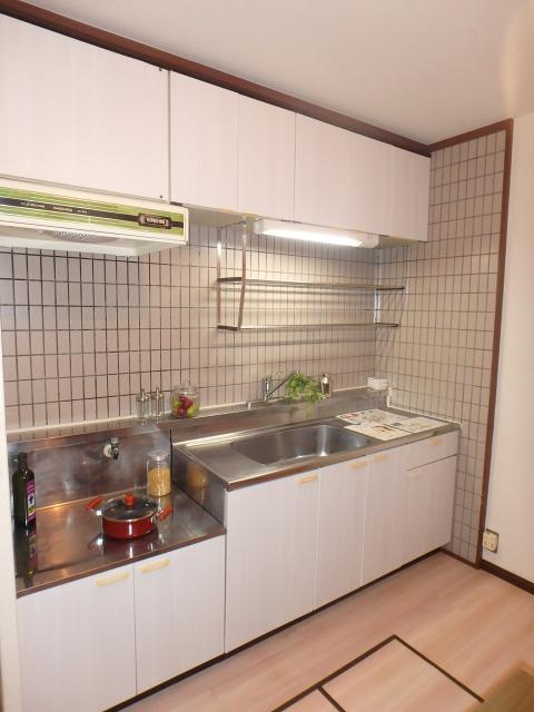 サンハイツ森山 / 102号室キッチン