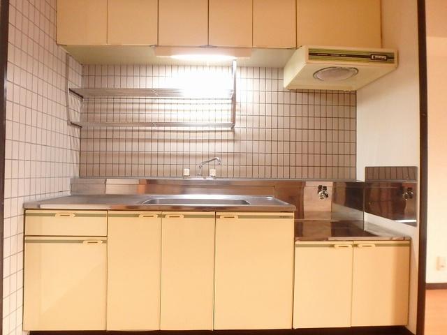 サンハイツ森山 / 401号室キッチン