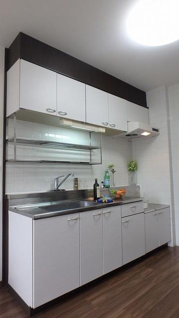 セントラルハイツ / 201号室キッチン