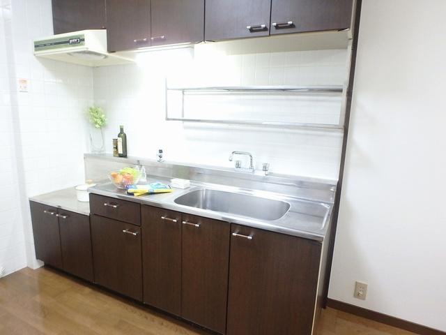 セントラルハイツ / 202号室キッチン