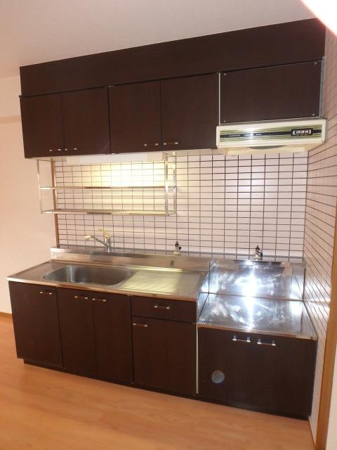高義ビルⅡ / 205号室キッチン