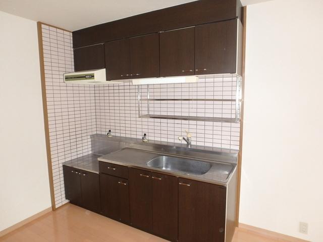 高義ビルⅡ / 206号室キッチン