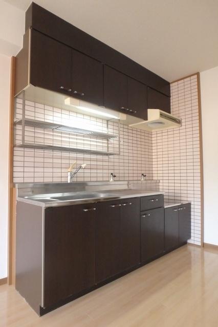 高義ビルⅡ / 303号室キッチン