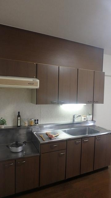 レスピーザⅡ / 603号室キッチン