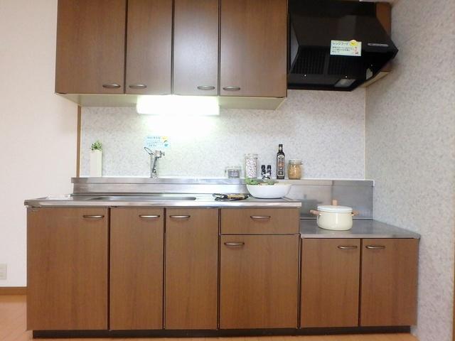 ルミエール東大利 / 402号室キッチン
