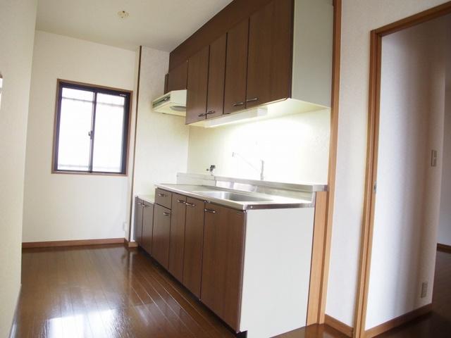 ホワイトヴィラ / 302号室キッチン