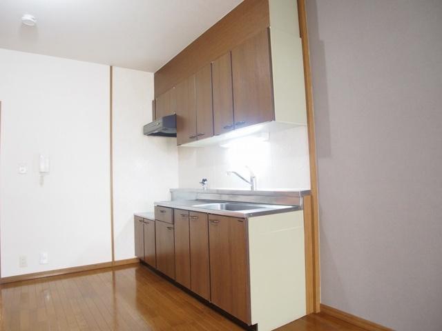 クレール東大利B / 201号室キッチン