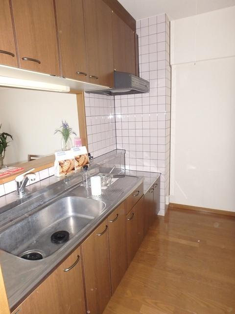 フローラルハイツ / 202号室キッチン