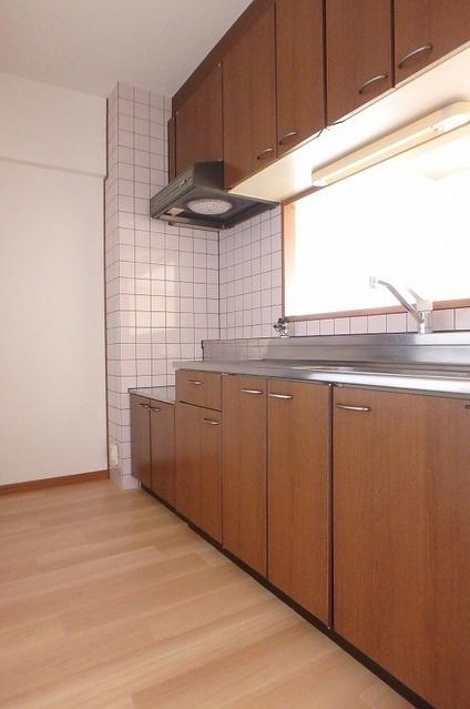 フローラルハイツ / 602号室キッチン