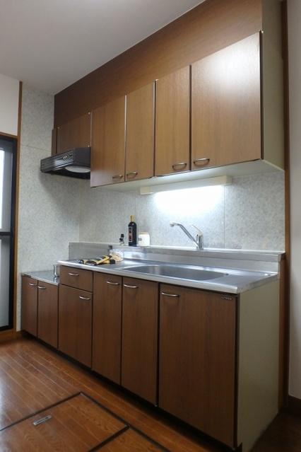 高義ビルⅢ / 103号室キッチン
