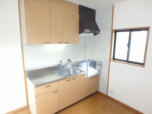 サンハイム日永田 / 101号室キッチン