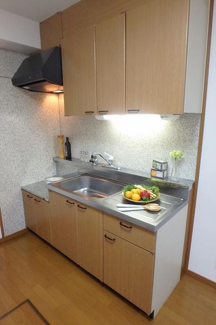 サンハイム日永田 / 202号室キッチン