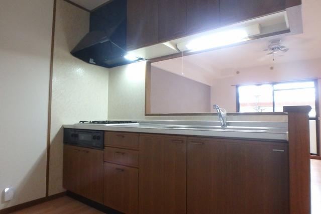 フレア・クレスト水城 / 102号室キッチン