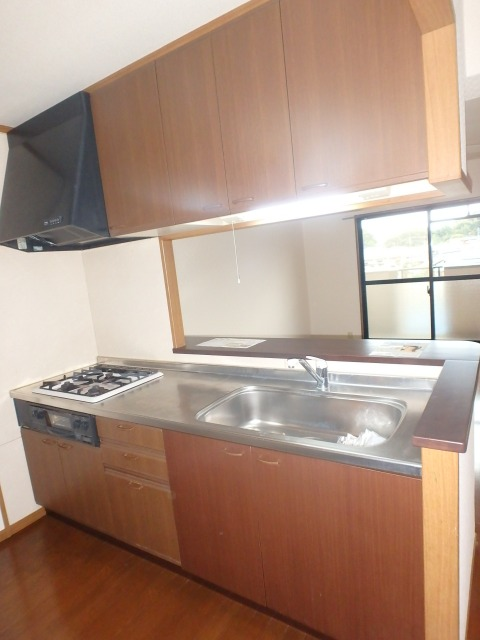フレア・クレスト水城 / 402号室キッチン